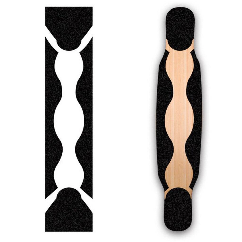 Anti-slip Dance Longboard Grip Tape Waterproof Skateboard Sticker Scooter Griptape Sandpaper 47inch Skateboard Parts