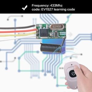 Image 5 - 433Mhz Draadloze Afstandsbediening Schakelaar 5V 2A Led Ontvanger En Zender Afstandsbediening Rf Schakelaar Voor Licht controller