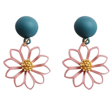 Sweet girl flower shape earrings youth beautiful fashion personality exquisite female new