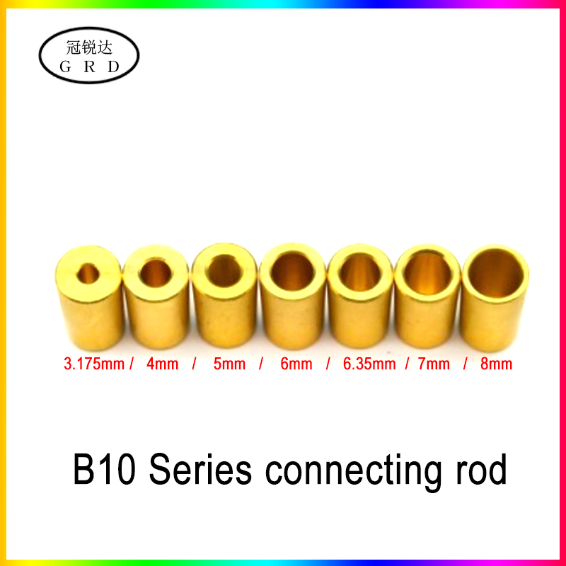 b10 drill chuck adaptor connecting <font><b>rod</b></font> shaft sleeve <font><b>steel</b></font> copper coupling 3.175mm 4mm 5mm 6mm 6.35mm <font><b>7mm</b></font> 8mm image