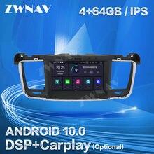 Carplay para PEUGEOT 508, 2011, 2012, 2013, 2014, 2015, 2016, 2017 Android Player navegación GPS Audio estéreo Radio grabadora de Video de la unidad