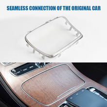Trim Center Console Chrome Ashtray Cup Holder Outdoor Parts Personal Car Accessories for Mercedes Benz W213 2015 2020