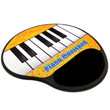 Music Mouse Pad,Piano Key Electric Toy Pad For Pc Laptop Piano Symbol