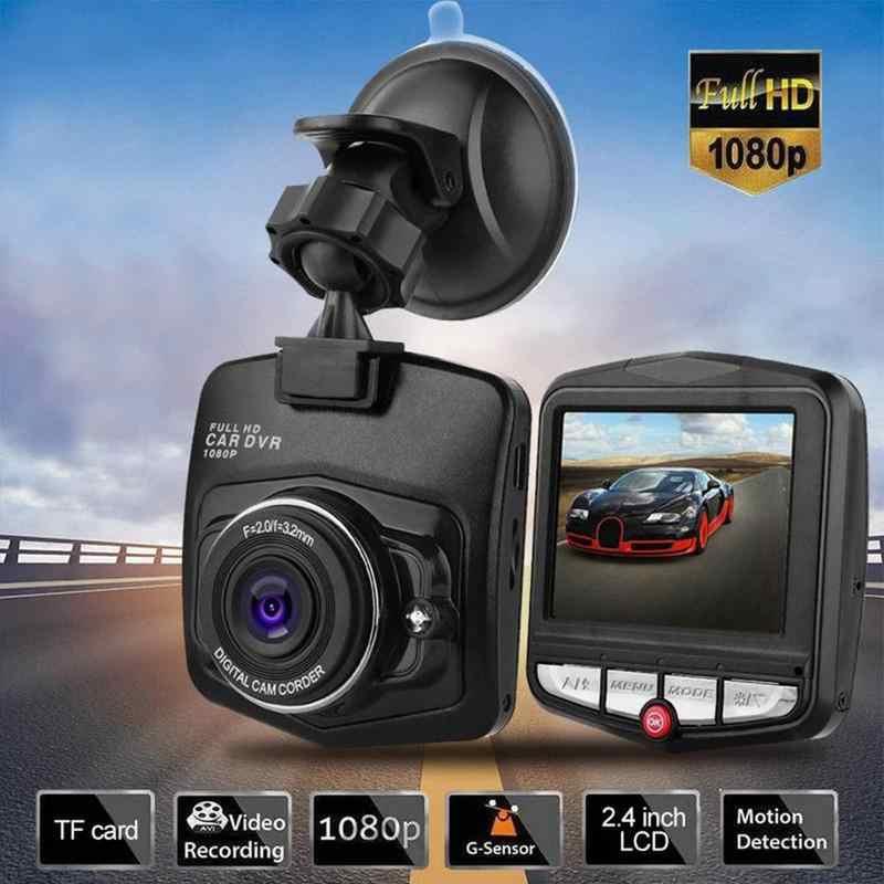 Mini Dash Cam coche DVR cámara grabadora de vídeo Full HD 1080P visión nocturna Dash Cámara Monitor de estacionamiento bucle sin costuras -Grabación de ciclo