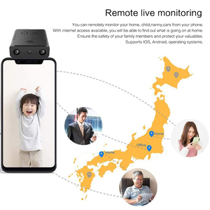 Plus petit HD 1080P Wifi XD Mini caméscope Vision nocturne Micro caméra détection de mouvement DV DVR caméra de sécurité prise en charge 32GB TF carte