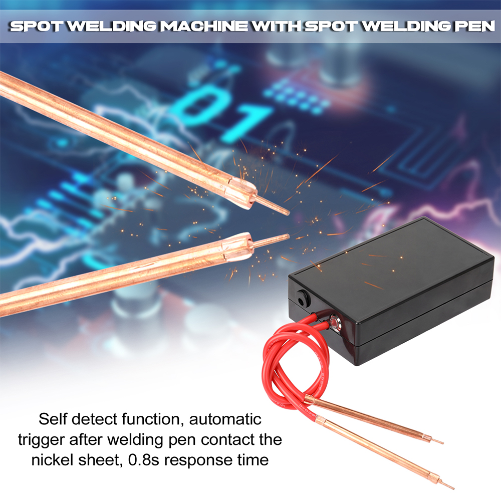 Tools : Portable Spot Welder 6 Gears Adjustable Mini Spot Welding Machine For 18650 Battery                                                                                                soldador por Tool Kit