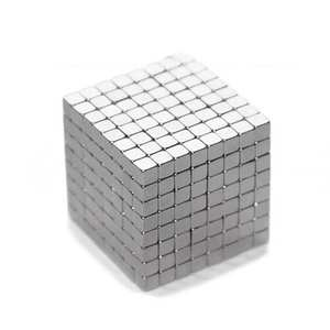 125Pcs Powerful Rare Earth Neodymium Square Magnets Block Cubes Educational Toy magical intellectual toy perfect Christmas gifts