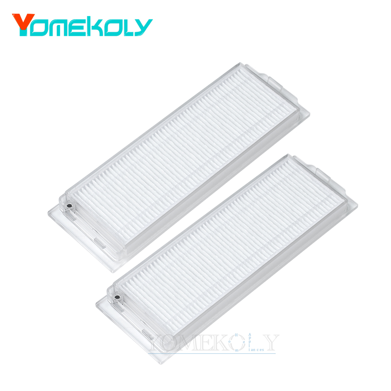 2pcs For XIAOMI MI Sweeping Mopping Robot Washed HEPA Filter Vacuum Cleaner STYJ02YM For VIOMI V2 Pro Replacement Parts