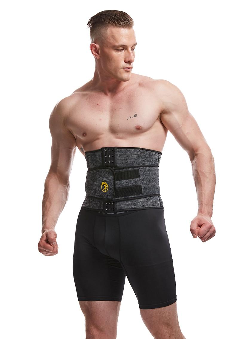 LANFEI Men's Neoprene Thermo Body Shaper Waist Trainer 19