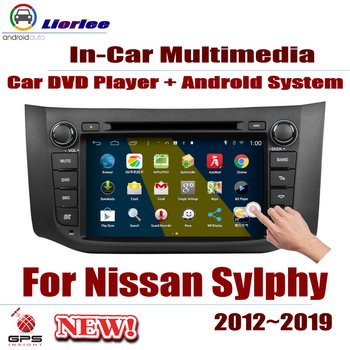 Auto DVD Player GPS Navigation For Nissan Sylphy (B17) 2012~2019 Car Android Multimedia System HD Screen Radio Stereo Head Unit