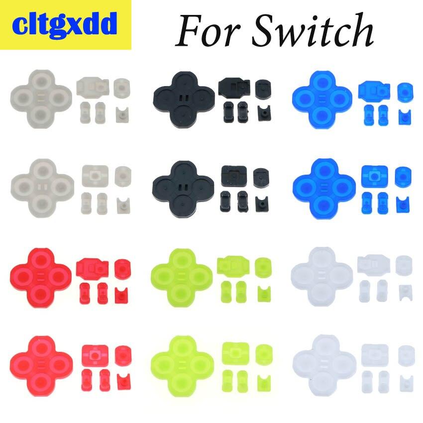 Cltgxdd Silicon Rubber Button For Nintendo Switch Joy-Con Left Right Controller Button Conductive Silicone Pad