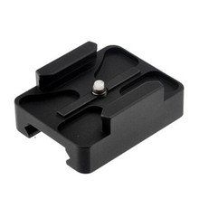 20mm CNC Mini Rail Mount Base Adapter for Gopro 8 7 6 5 SJCAM