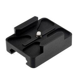 Adaptador de Base de montaje para Gopro, 20mm, CNC, Mini Riel, 8 7 6 5 SJCAM