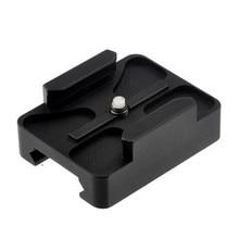 20mm CNC Mini adaptateur de fixation sur Rail pour Gopro 8 7 6 5 SJCAM