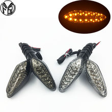 Turn Signal Indicator Light For DUCATI Monster 695 696 796 821 1100/S/EVO 1200 Motorcycle Accessories Front/Rear Blinker Lamp