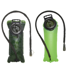 2.5L Water Bag Soft Drink Bottle Folding Flask For Outdoor Sport Green Camping Health Drinking