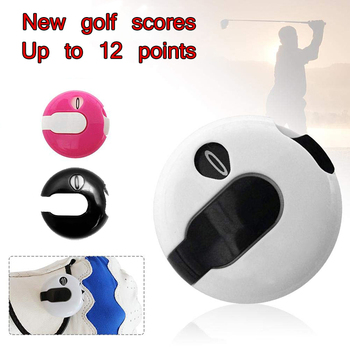 Small Golf Score Counter Indicator Golf Stroke Counter Attachment Scorekeeper Golf Counter Mini Score Counter Golf Training Aids 1 piece tmc7cx counter 6 digits tmc7cx cwp preset counter electronic counter