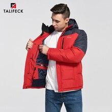 2019 New Men Winter Jacket Warm Cotton Winter Coat Patchwork Padded Jacket Parka Men Thick Overcoat Detachable Hood Russian Size цена в Москве и Питере
