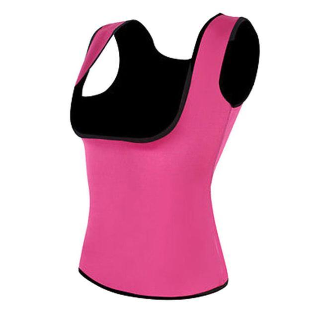 Women Slimming Belly Belt Corset Neoprene Sauna Vest Sweat Shirt Shapewear 4