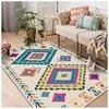 Living Room Bedroom Carpet Floor Mat Ethnic Style Geometric Carpet Bedroom Decor Living Room Rug Large Fur Carpet