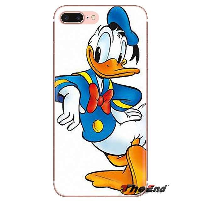 Super Dos Desenhos Animados Pato Donald Arte Para Huawei G7 G8 P7 P8 P9 P10 P20 P30 Lite Mini Pro P Inteligente Mais 2017 2018 2019 Caso Da Pele De