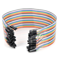 71A ccjlubiao50 2199 6 colours Serial To 15Pin IDE Molex Female + 4Pin SATA Cable Power Cable