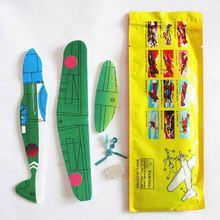 4 шт diy детские мини пенопластовые игрушки ручной работы летающий