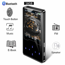 Bluetooth MP3 Player Video Ultra thin Touch Screen MP3 Can Watch Nove Movies  English MP3 Player Music Walkman MP3 Fm Radio