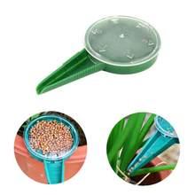 Plásticos 1PC Mini Mão Semente Semeador Semeador Fazenda de Tamanho Ajustável de Planta De Jardim Ferramenta Fontes TXTB1
