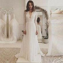Nuoxifang robe de mariée 2020 vestidos кружевное свадебное платье