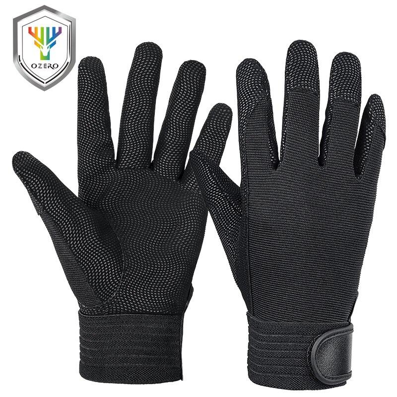 OZERO P Mechanical Work Gloves Flex Extra Grip Unisex Working Welding Safety Protective Garden Sports Gloves A9047P