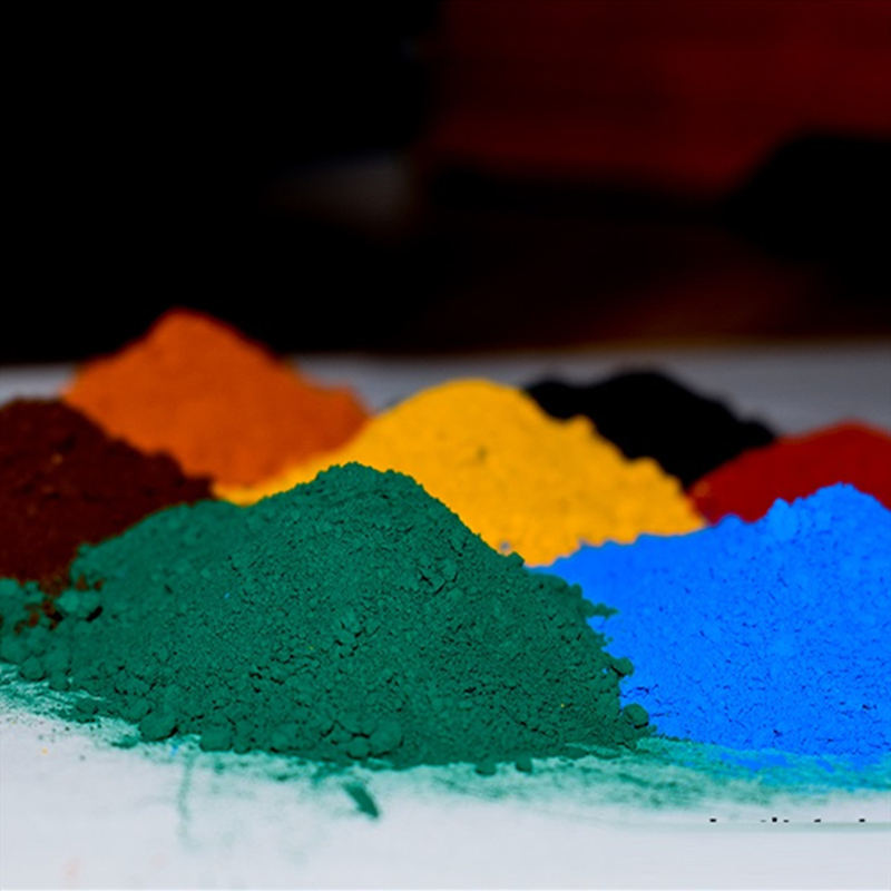Special Grade Iron Oxide Pigment Cement Coloring Pink Yellow Black Green Color Tile Coating Color Powder DIY Hand-paved Concrete