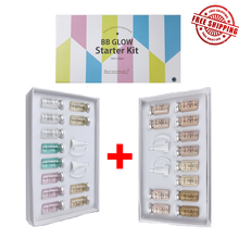12pcs 8ml Brand  BB Cream Serum Ampoule Add Foundation Niacinamide/peptide For Effective Brightening Anti-aging