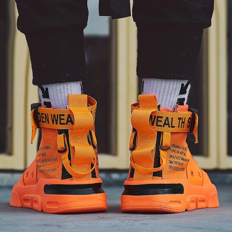 BIGFIRSE zapatillas de deporte al aire libre para Hombre flyknitted transpirable tendencia Zapatos para Hombre mocasines nuevos Zapatos de moda para Hombre con cordones