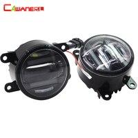 Cawanerl 1 Pair Car Light Fog Light LED Daytime Running Lamp DRL Accessories For Suzuki Alto SX4 Splash Grand Vitara Jimny