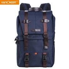 Противоударный рюкзак k & f для камеры многофункциональная водонепроницаемая