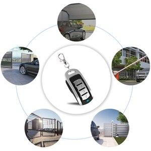 Image 5 - 2pcs Gate Remote Control garage Multi Frequency Duplicate 300 900mhz Command Handzender Garage Door Opener keychain