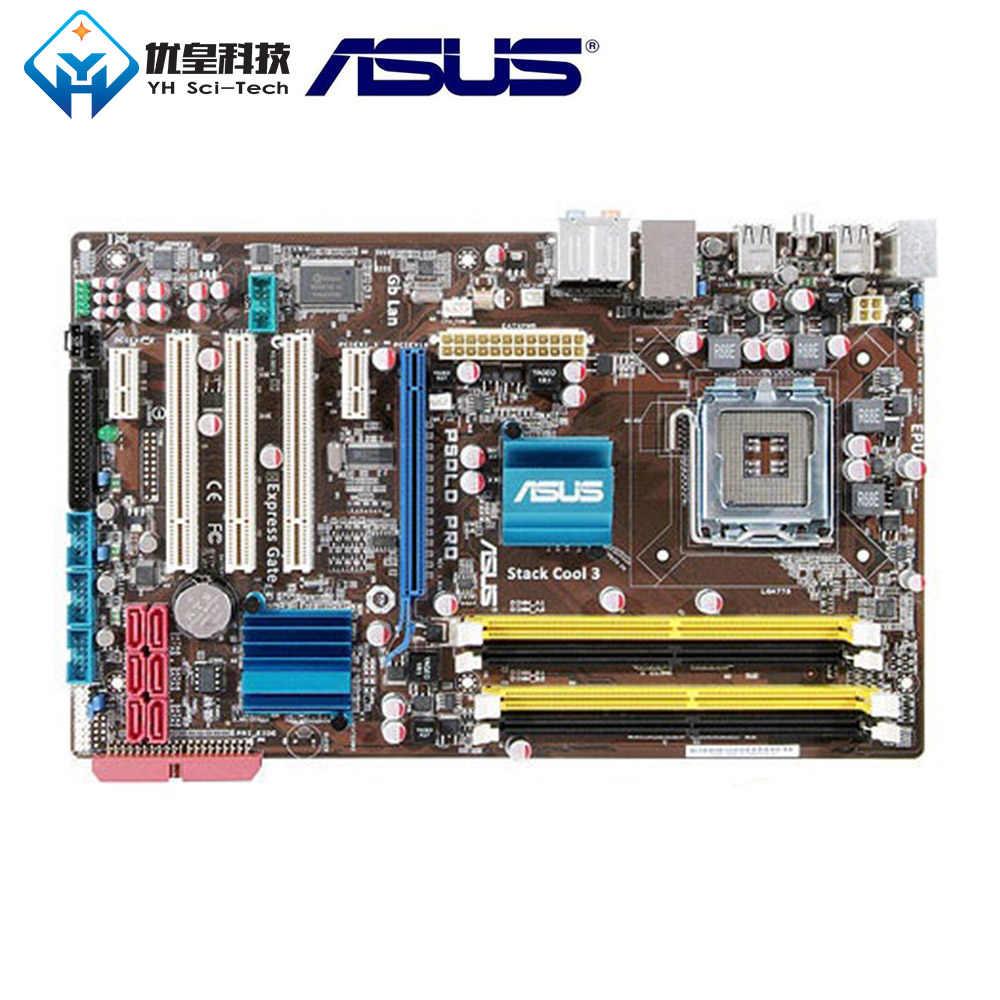 آسوس P5QLD برو إنتل P43 الأصلي المستخدمة سطح المكتب اللوحة المقبس LGA 775 كور 2 المتطرفة/كور 2 رباعية DDR2 16G ATX