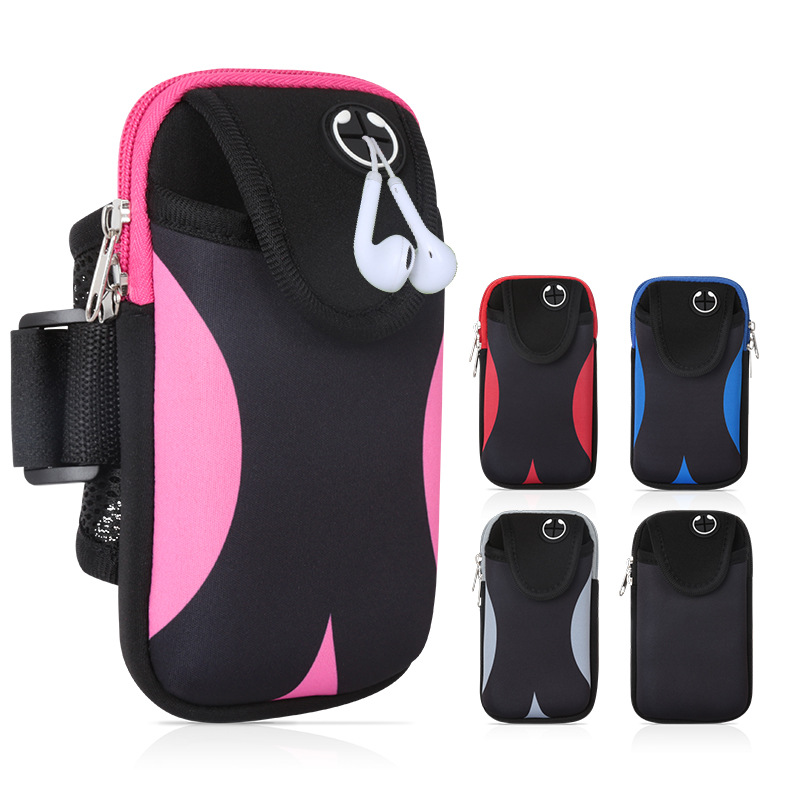 Sports Armband Bag Mobile Phone Protective Sleeve Running Armband Universal Waterproof Sports Mobile Phone Cover Outdoor Sports