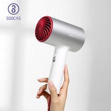 SOOCAS – sèche-cheveux électrique professionnel H5 à ions négatifs, 1800W, en alliage d'aluminium, puissant, circulation d'air chaud et froid