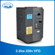 CNC VFD Universal 1.5kw/2.2kw 220V Inverter Single Phase Eingang Frequenz Konverter Inverter für Spindel Motor