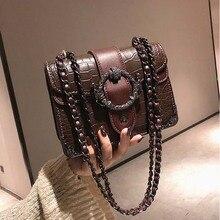 Elegant Stone Pattern Tote crossbody bag High Quality PU Leather Womens Designer Handbag Metal Lock Shoulder Messenger Bags