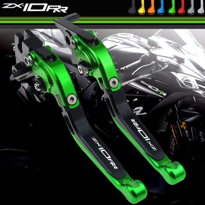 Image 1 - Motocross Accessories Brake Clutch Levers for Kawasaki ZX10RR ZX 10RR ZX10 RR KRT ZX 10RR 2016 2020 Handle Bar Lever Motorcycle