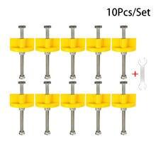 10 шт Регулируемый подъемник по высоте для плитки горизонтальный