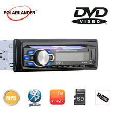 1 leitor de cd estereofônico do carro de mp4 mp3 do carro do ruído dvd cd do ruído leitor de cd usb/aux/sd/mmc 12v autoradio handfree 87.5-108.0mhz