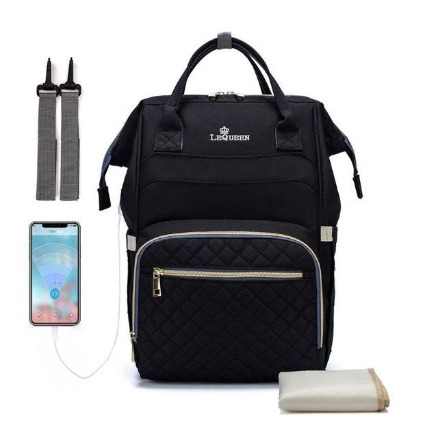 многофункциональная дорожная сумка рюкзак для пеленок фотография