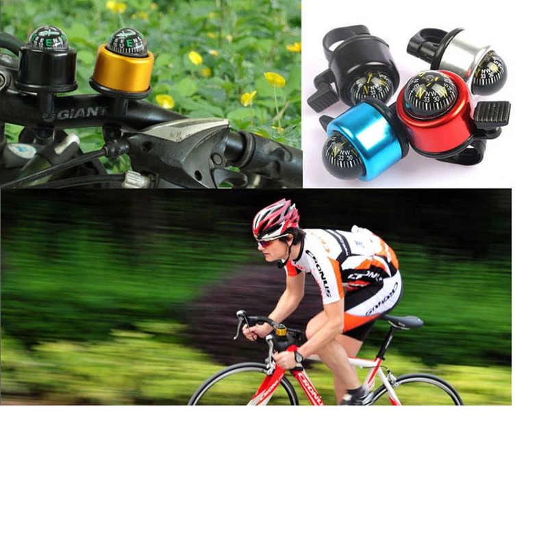 自転車ホーンベルコンパスアルミ合金リングハンドベル着信音自転車アラーム自転車アクセサリー
