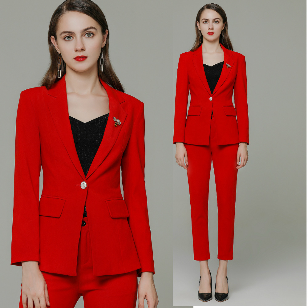 womens suit  2 piece set women  suit women blazer set  korean women suits  business suits ladies  women pants suits plus size