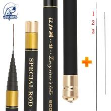 купить Strong Hand Pole Fishing Rod Ultra Hard Super Light Extra Long High Carbon 8/9/10/11/12/13M Telescopic Rod Stick Spare Tip по цене 1511.04 рублей
