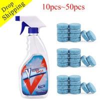 100/50/10 pçs multifunções efervescente spray cleaner conjunto limpo local casa concentrado de limpeza janela chão cozinha cleaningtool